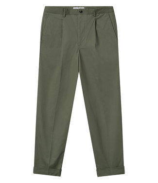 Les Deux Les Deux Preston Cotton Pants Green