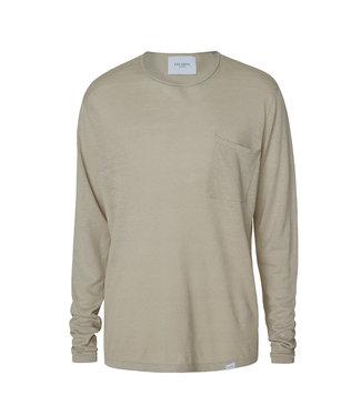 Les Deux Les Deux Evan Linen Knit Mirage gray