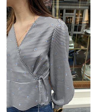 Norr Norr Tanja Top Grey Check