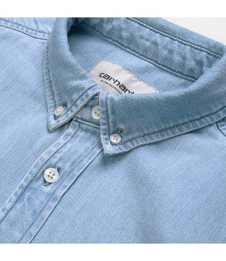 Carhartt Carhartt L/S Civil Shirt Blue Bleached