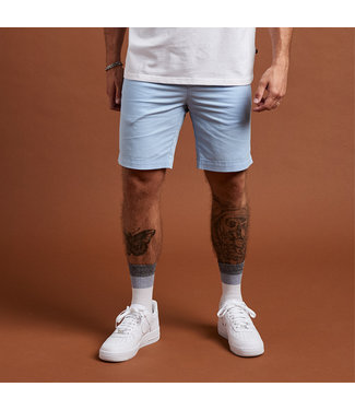 Clean Cut Copenhagen Clean Cut Copenhagen Milano Drake Stretch Shorts Light Blue