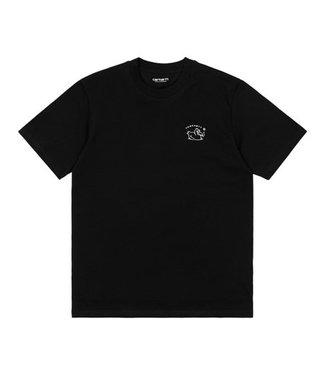 Carhartt Carhartt S/S Misfortune T-Shirt 100% Organic Cotton Black