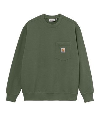 Carhartt Carhartt Pocket Sweat 100% Cotton Dollar Green