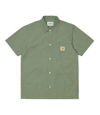 Carhartt Carhartt S/S Creek Shirt 100% Organic Cotton Dollar Green