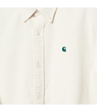 Carhartt Carhartt L/S Madison Fine Cord Shirt 100% Cotton Wax/ Kingston