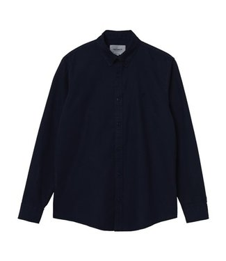 Carhartt Carhartt L/S Bolton Shirt 100% Cotton Dark Navy