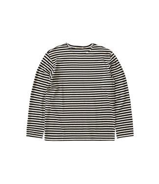 Nudie Jeans Nudie Jeans Charles Breton Stripe Offwhite/Black