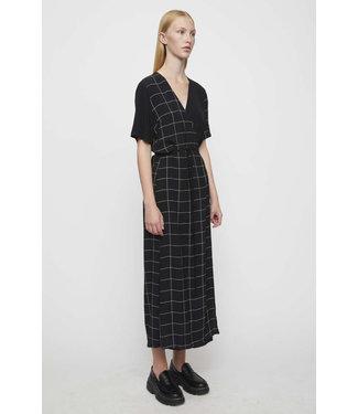 Just Female Just Female Halle Maxi Wrap Dress Half Check