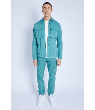 Native Youth Native Youth L/S Overshirt Teal