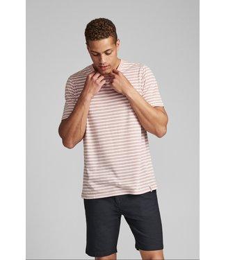 Anerkjendt Anerkjendt Akrod Striped T-shirt Old Rose