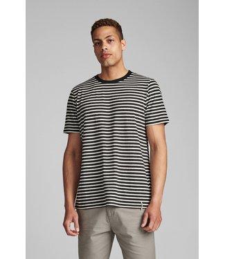 Anerkjendt Anerkjendt Akrod Striped T-shirt Caviar