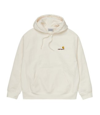 Carhartt Carhartt Hooded American Script Sweat Wax
