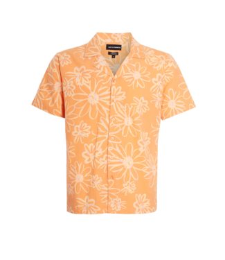 Native Youth Native Youth S/S Shirt In Provencal Print Orange