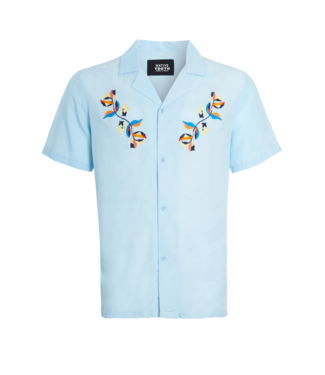 Native Youth Native Youth S/S Shirt Mimosa Print Embroidery
