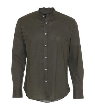 Clean Cut Copenhagen Clean Cut Copenhagen Cotton Linen Shirt Dusty Green