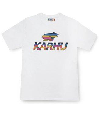Karhu Karhu Team Collage Big Logo T-shirt White 250321