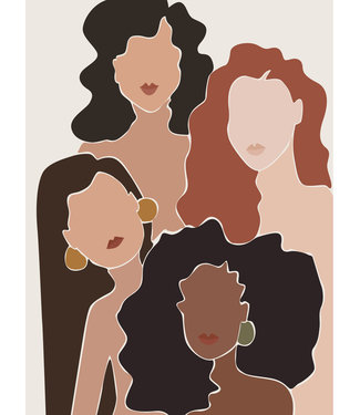Roots Home Roots Home Poster A3 Forever Women