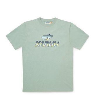 Karhu Karhu Team Collage T-shirt Mint Green