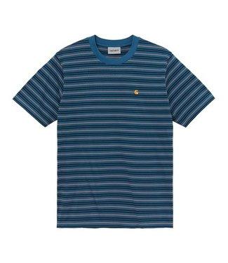 Carhartt Carhartt S/S Akron T-shirt Stripe Shore