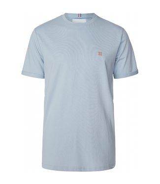 Les Deux Les Deux Norregaard T-shirt Dust Blue/Orange