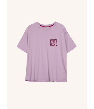 Frnch Frnch T-shirt Kisses Lilas