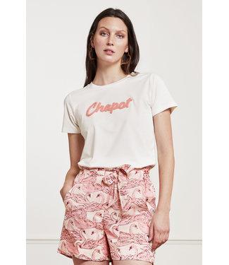 Fabienne Chapot Fabienne Chapot Terry Pien T-Shirt Cream White