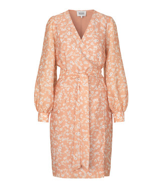 Second Female Second Female Karima Wrap Dress Toasted Nuts
