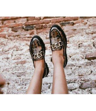 Tango Tango Bee Bold Leather Loafer Multicolour