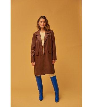 MbyM MbyM Edmonds Luan Blazer Jacket Walnut Brown