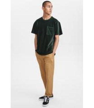 Anerkjendt Anerkjendt Akrune Velvet T-Shirt Deep Forrest
