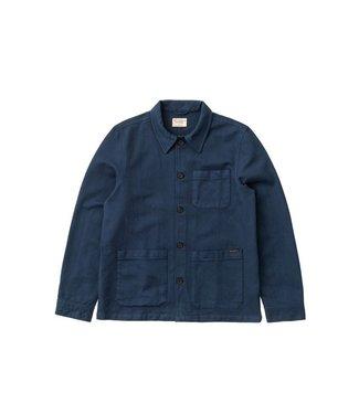 Nudie Jeans Nudie Jeans Barney Worker Jacket Indigo Blue