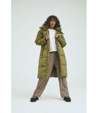 Norr Norr Selma Puffer Jacket Olive