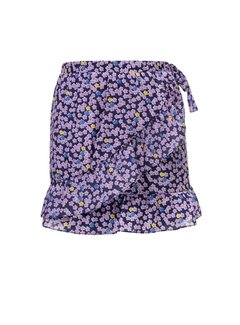 LOOXS Girls Wrap skirt with flower print