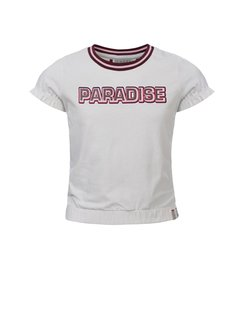 LOOXS Girls Off-white t-shirt paradise