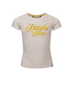 LOOXS Girls Sand colored tee