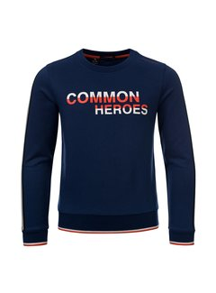 Common Heroes Blauwe sweater