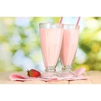 Aardbeienshake/dessert