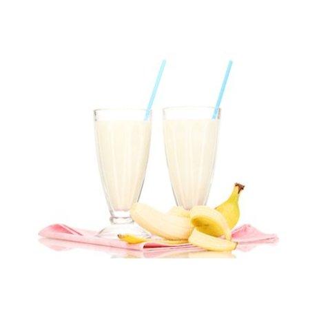 Eiwitrijke shake banaan
