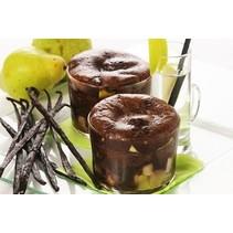 Chocolade Peer Dessert (proteïnerijk)