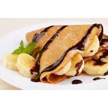 Eiwitrijke Pannenkoekenmix Choco-Banaan