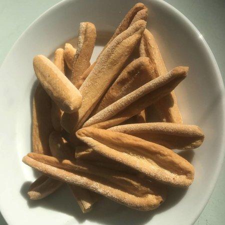 Eiwitrijke Baguette-Dippers