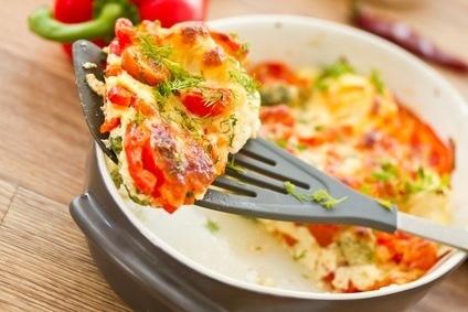 Omelet mediterraan*
