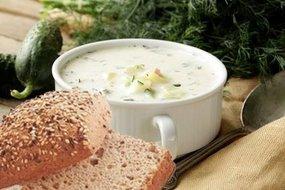 Witlof soep met courgette