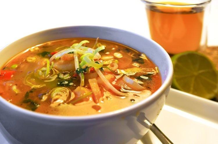 Pittige Thaise Soep