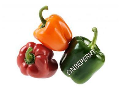 Gele & Rode (punt) paprika