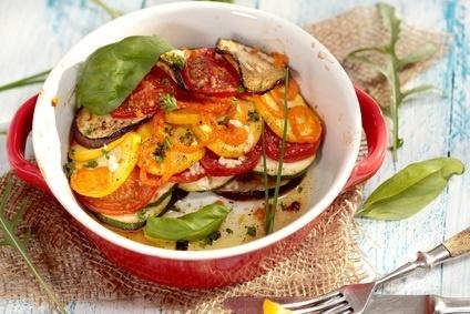 Lasagne van verse groenten