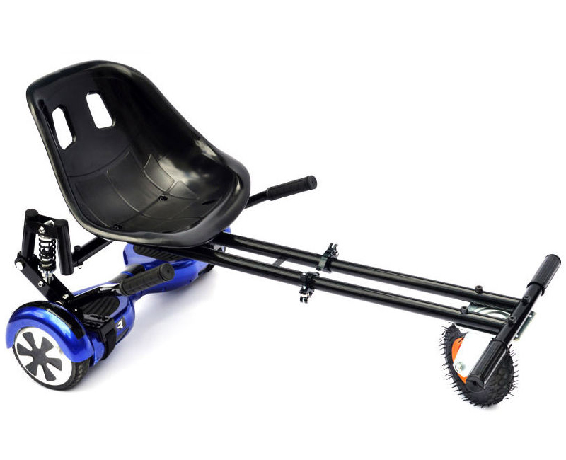 Oxboard Met Stoel : Hoverkart deluxe met schokdempers luchtband dubbel stang en