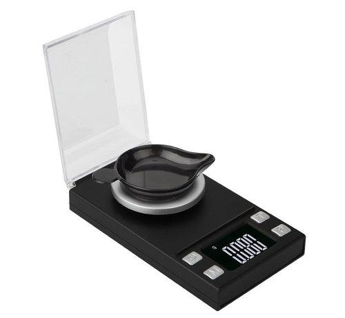 Trendfield Digitale Precisie Weegschaal 50g tot 0,001 Gram Nauwkeurig - Geschikt voor Medicijnen, Kruiden, Juwelen - Pocket Model