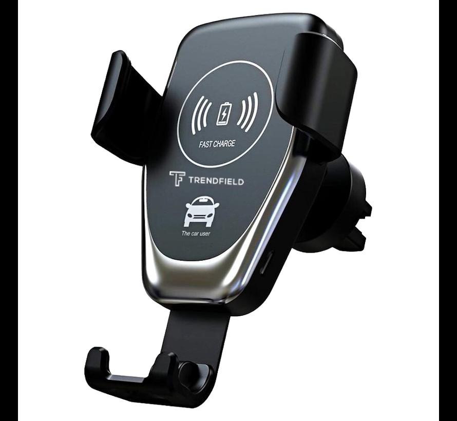 Trendfield FM Transmitter + Telefoonhouder Auto Draadloze Oplader - Bluetooth Carkit voor Muziek – Compleet Pakket