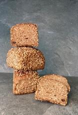 glutenfreies Schwarzbrot mit Pflaumen, 500 g
